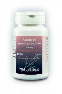Aceite de semillas de Lino 1.000 mg