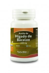 Aceite de Hígado de Bacalao 1.000 mg