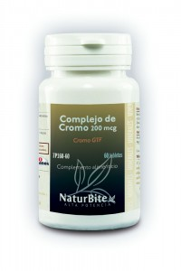 Complejo de Cromo (200 mcg Cr. GTF)