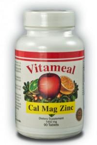 Calcio Magnesio y Zinc 1450 mg Vitameal